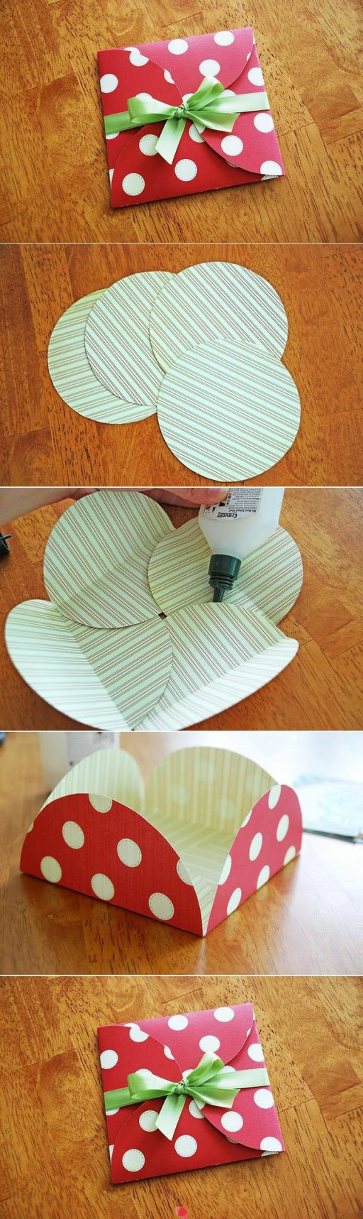 How to make beautiful DIY gift envelope step by step tutorial instructions
