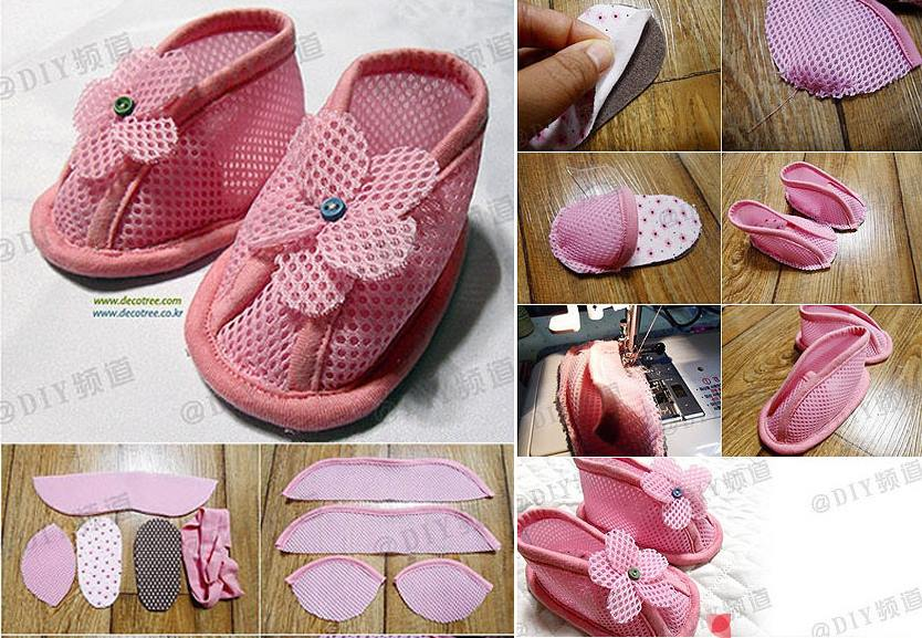 How To Sew Cute Diy Baby Shoes Step By Step Tutorial