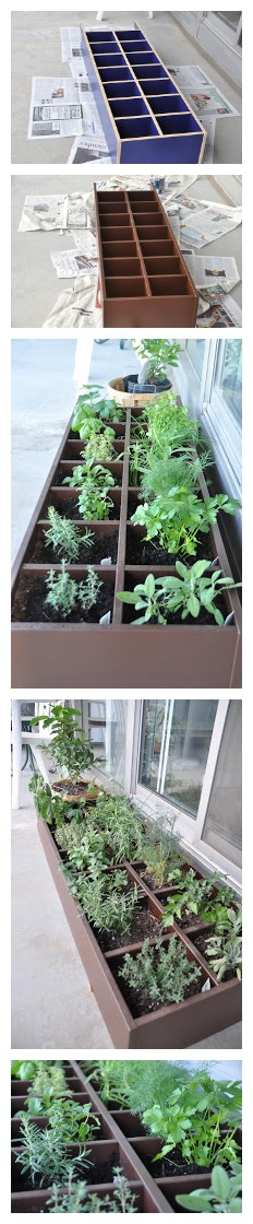 How to turn an old CD rack into a garden vegetable planter step by step DIY tutorial instructions