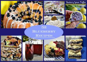 52 blueberry recipes