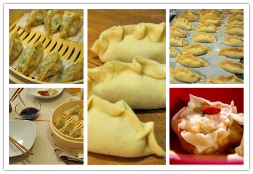 Culinary school - How to cook Chinese dumplings step by step DIY tutorial instructions