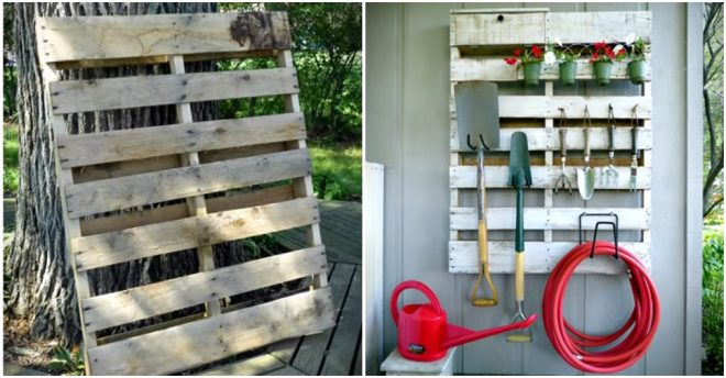 how-to-make-diy-pallet-garden-tool-organizer
