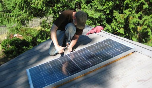 How to build a simple DIY home solar power system step by step tutorial instructions