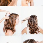 Hairstyle for long hairs step by step diy tutorial instructions thumb