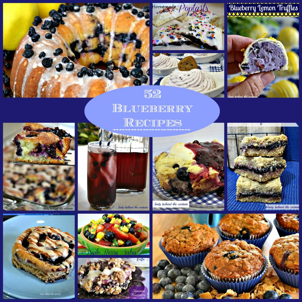 How to eat blueberry - 52 blueberry recipes