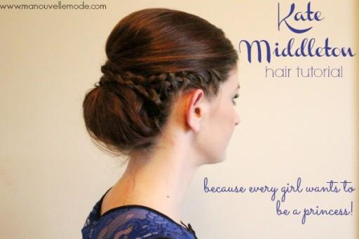 Pleasant How To Make Beautiful Diy Kate Middleton Princess Hairstyle Step Short Hairstyles Gunalazisus