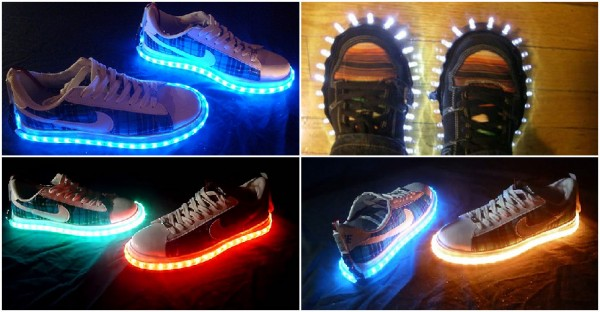 How To Make DIY LED Shoes Step By Step Instructions | How ...