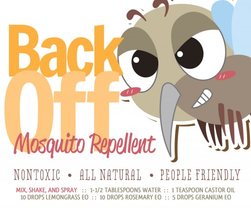 How to make non-toxic, all natural, people friendly DIY mosquito repellent step by step tutorial instructions and recipe 2