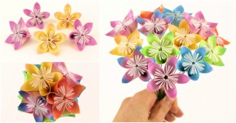 paper flower balls instructions