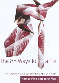 The 85 ways to tie a tie book
