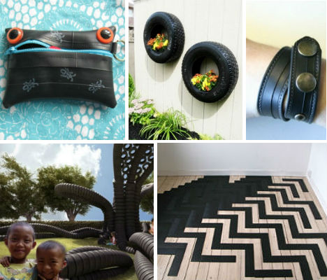 25 ideas to reclaim or recycle used tires
