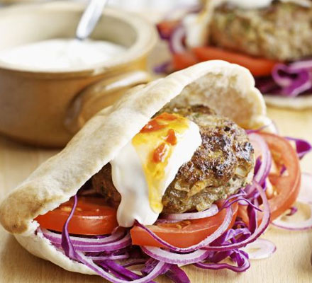 Cooking class - How to make delicious DIY kofta burgers step by step tutorial instructions