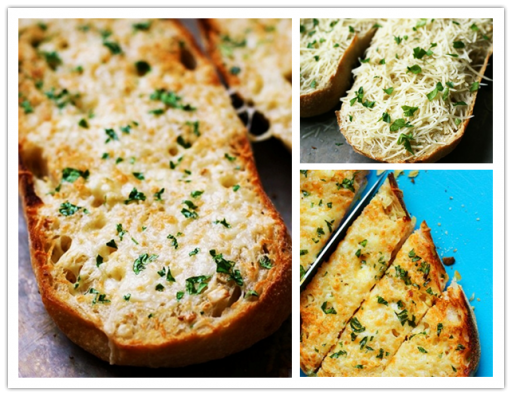 Cooking class - How to make delicious garlic Cheese bread step by step DIY tutorial instructions and recipe