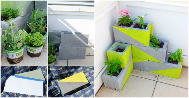 how-ho-make-cute-diy-concrete-block-garden-planters
