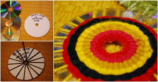 how-to-make-fabulous-diy-cd-weaving-decoration