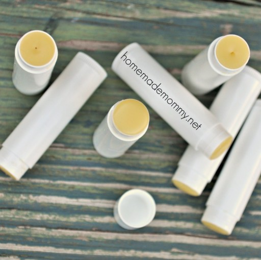 How to make DIY homemade lip balm step by step tutorial instructions and recipe 2