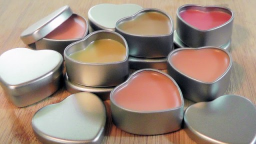 How to make DIY homemade lip balm step by step tutorial instructions and recipe 3
