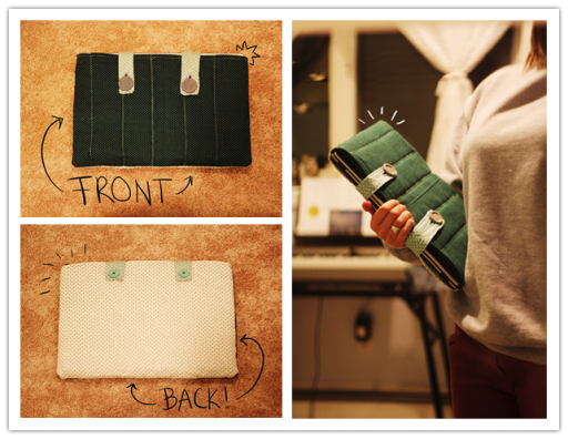 How to make DIY laptop sleeve step by step tutorial instructions