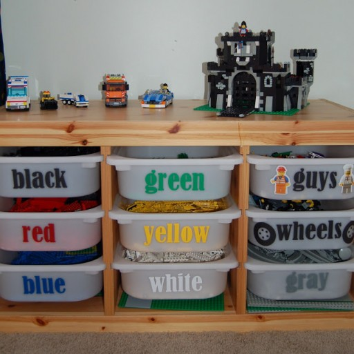 How to make DIY lego sorting and storage