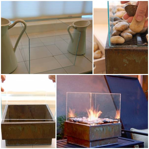 How to make a small diy fire pit for cheap step by step for Make a fire pit cheap