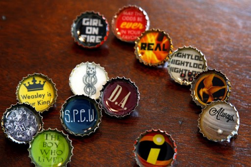 How To Make Cool Beer Bottle Cap Resin Pins Step By Step