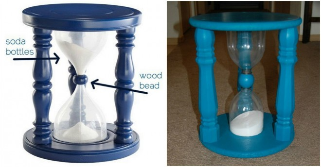 DIY Sand Filled Time-Out Stool  More DIY Ideas <<