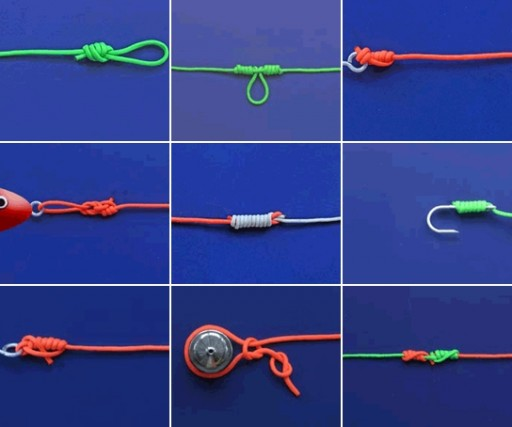 how to tie a knot step by step DIY tutorial instructions