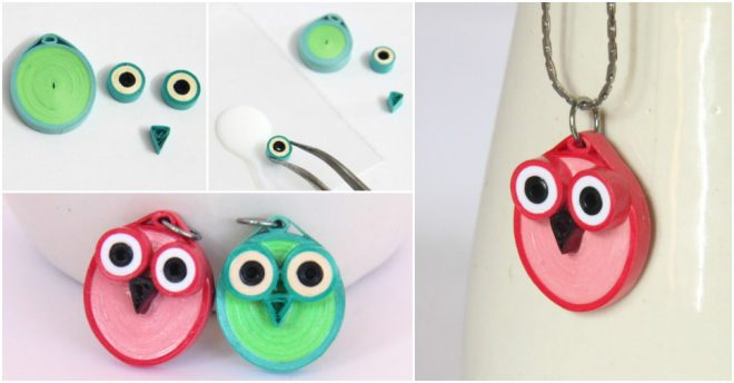 how-to-make-cute-owl-pendants