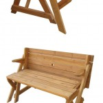 How To Build A 2 In 1 Folding Wooden Bench | Woodworking Magazine ...