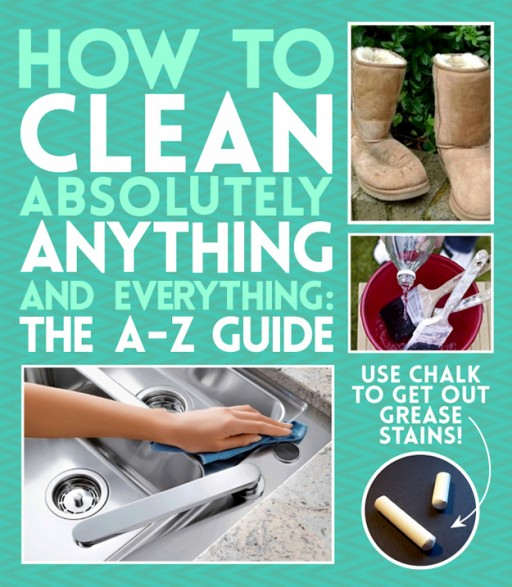 How to clean almost everything and anything