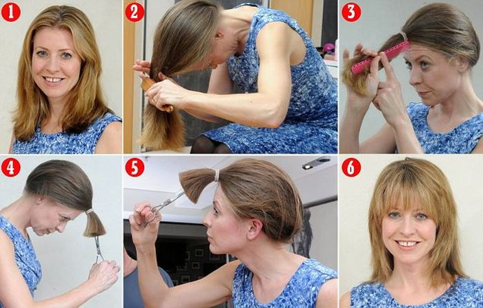 How To Cut Your Own Hair Step By Step Diy Tutorial Instructions