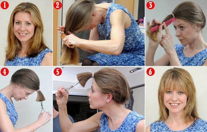 Как себе сделать укладку длинных волос