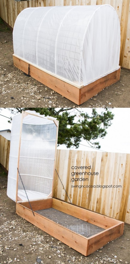 How To Make Diy Fold Down Convertible Greenhouse How To