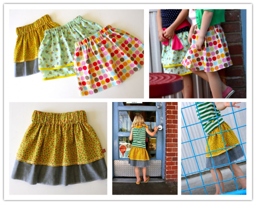 How to make DIY simple skirts step by step tutorial instructions