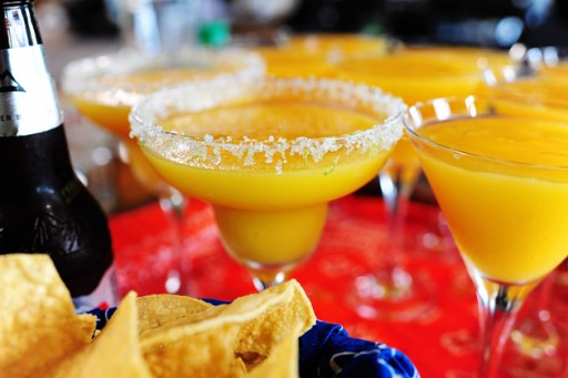 How to make Mango margaritas step by step DIY tutorial instructions