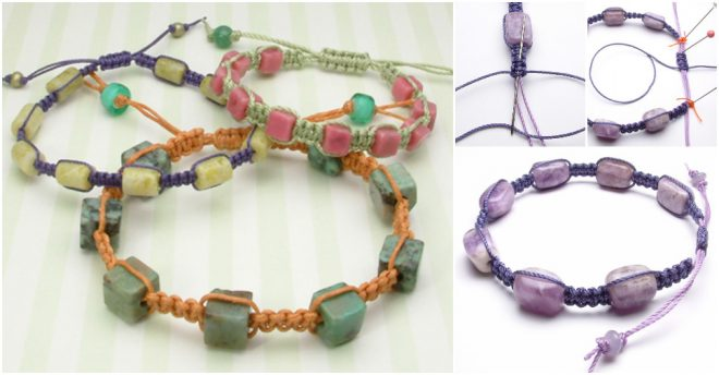 how-to-make-precious-stone-bracelet