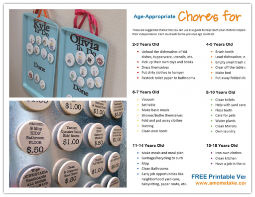 How to make a DIY chore chart for kids