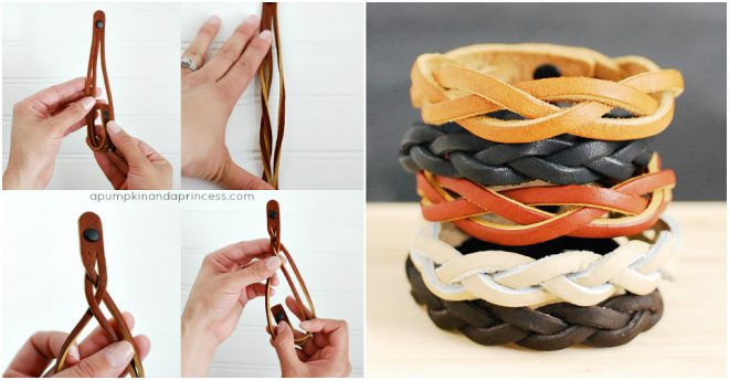 DIY mystery braid bracelets