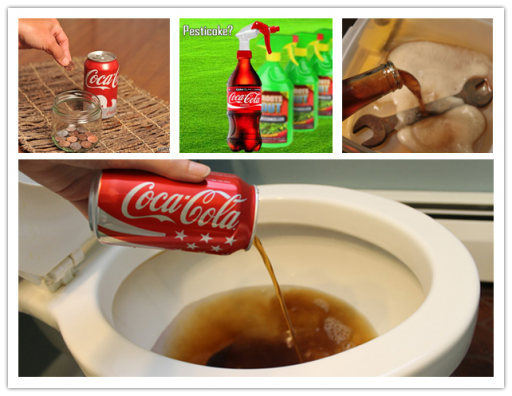 25 alternative practical uses of Coca-Cola