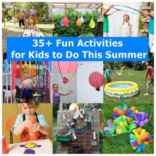35+ fun summer activities for kids