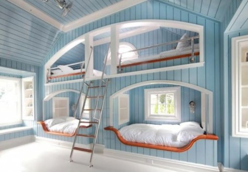 50 modern bunk bed design ideas 11