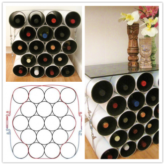 How to make DIY mod wine rack step by step tutorial instructions