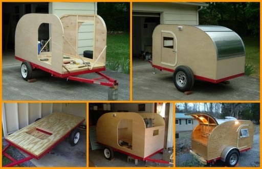 Truck Camper Plans Build Yourself: How To Build A Teardrop Road Camper Trailer