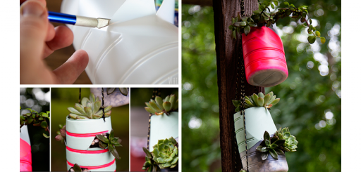 How To Make DIY Hanging Succulent Garden