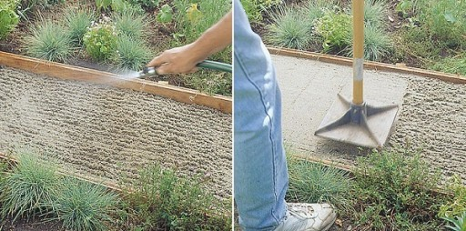 How To Make Flagstone Garden Path Step By Step DIY Tutorial Instructions 3