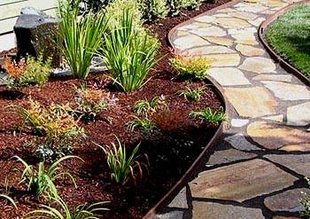 How To Make Flagstone Garden Path Step By Step DIY Tutorial Instructions 5
