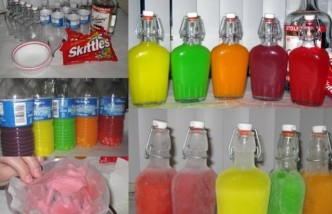 How To Make Skittles Vodka Step By Step DIY Tutorial