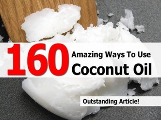 160 Unusual Ways To Use Coconut Oil