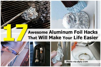 17 Amazing Aluminum Foil Hacks To Make Your Life Easier