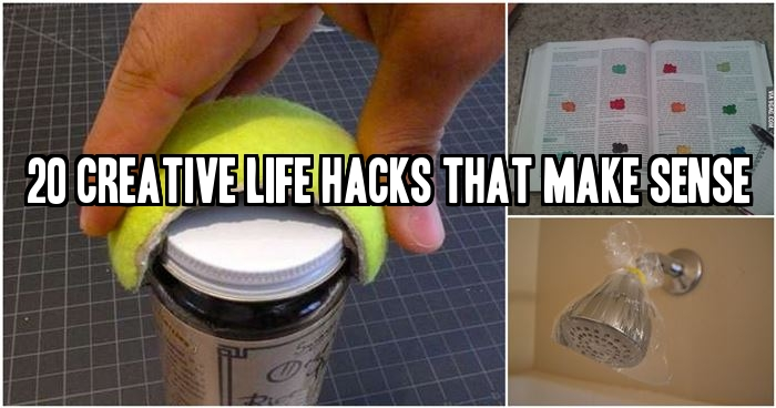 20 Creative Life Hacks That Make Sense